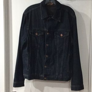 Men's Mavi Dark Blue Denim Jacket Medium